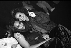 Philly The Warehouse Nikkie & Sophie B&W Sep 1996 014 (photographer695) Tags: philadelphia sophie warehouse nikkie