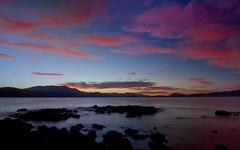 Hobart from Tranmere (farmatronic) Tags: sunset tasmania hobart tranmere