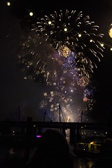 May 2013 be happier ( Black Orchid ) Tags: new eve travel london night canon eos lights fireworks year heads newyearseve 550d