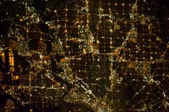 Dallas at Night (NASA, International Space Station, 11/15/12)
