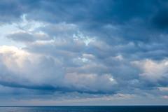 Everyday I have the Blues (Melody Migas) Tags: blue sky gulfofmexico clouds gulf alabama blues orangebeach gulfcoast