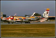 HC-AZQ Ecuatoriana (Bob Garrard) Tags: am american mia pan boeing airlines ecuatoriana 720 kmia 720023b hcazq n7551a n782pa