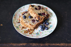Blueberry & Pecan Crumble Loaf (333Bracket) Tags: food london cake yum blueberry blogging loaf fullframe pecan ef50mm14 333bracket canon5dmk2