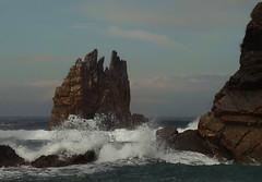 Una roca. Cuatro formas de verla. (Geli-L) Tags: asturias playa luarca occidente portizuelo cantábrico mygearandme mygearandmepremium