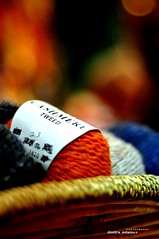 LovE Knitting? (dimitra_milaiou) Tags: world life city blue winter friends red orange white black color art love wool beautiful shop shopping greek 50mm design photo nikon knitting warm europe soft colours basket natural bokeh handmade quality live centre crochet dream hellas knit athens hobby dreaming yarn greece variety lovely f18 pure pullover tweed handknitting dimitra d90  sakalak   casmere             milaiou