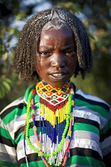 Borana girl - Ethiopia (Steven Goethals) Tags: travel portrait people woman color girl face lady canon eos veil muslim islam culture tribal adventure peoples explore human butter valley tribes 5d tradition ethiopia tribe ethnic tribo visage ethnology tribu omo eastafrica etiopia ethiopie blackskin ethnique borana borena ethiopi goethals yabello afriquedelest stevengoethals