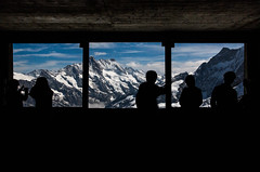 A Window with a view (Ravick@nth) Tags: switzerland jungfraujoch eigerwand viewingwindow