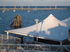 IMG_6630 (Dan Correia) Tags: marthasvineyard island ocean harbor jetty boat shadows topv111