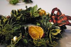 Festive wreaths and floral arrangements - 7th Dec 2012 (ArtisOn Masham) Tags: floral wreath workshops christmaswreath flowerarranging masham artison craftworkshops