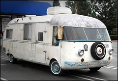 1960s Ultravan Motorhome, Powered by Corvair (greenthumb_38) Tags: kansas anaheim ultra hutchinson corvair lightweight ultravan jeffreybass canong11