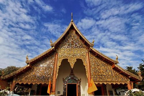 Ubosot of Wat Chiang Man / Chiang Mai / Thailand