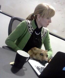 //www.flickr.com/photos/31855341@N00/8436818728/: Lt. Barclay, keyboard dog