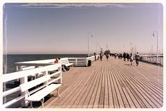 The Sopot pier - molo (ika_pol) Tags: sea beach poland baltic pomerania sopot pomorze