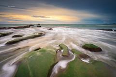 Dances with waves (Alex cheong) Tags: mossy rock leefilter haida fe1635mm a7r sonya7r sony seascape waves tindakondazang sabah malaysia sonymalaysia