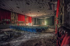 Theater of War (Janedewaard) Tags: urbex abandoned theater verlaten germany duitsland hdr beautifull decay explore exploring depart urbexexplore