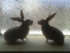 Twin rabbit - nguyen hung cuong (javier vivanco origami) Tags: origami ica twin rabbit nguyen hung cuong peru javier vivanco