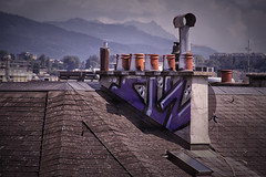 TagCheminee_9013 (cocolokoproducciones) Tags: slection streetart graffity graffitis tags roof
