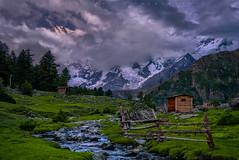 Fairy Meadows & The Killer.. (Minhaj Qazi) Tags: pakistan north northernpakistan travel taveller earth earthday bbcearth nature greatnature greatshot chilas nangaparbat 8126m sunset amazing