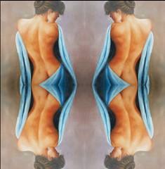 2016-08-17 symmetrical nude paintings 2JPG (april-mo) Tags: symmetry symmetrical symtrie collage art paintin painting woman womanportrait charm