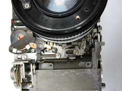 canonet ql19 (zaphad1) Tags: canonnet ql19 repair front cover off removal ql 19 canon canonet