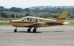 G-BNSZ (goweravig) Tags: gbnsz piper warrior cherokee swansea wales uk swanseaairport visiting aircraft