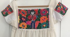 Embroidered Blouse Panels Mexico (Teyacapan) Tags: blouses mexican mexico bordados textiles embroidered sewing needlework