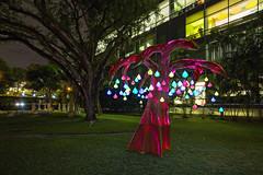Singapore Night Festival 2016 - Samara by Max Pagel & Jonathan Hwang, Starlight Alchemy (SG) (gintks) Tags: gintaygintks gintks singapore singaporetourismboard armenianchurch yoursingapore exploresingapore sgnightfest