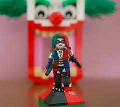 Harley Quinn (Injustice ver.) (adria1223) Tags: harleyquinn lego injustice legoharleyquinn suicidesquade legodc dc legodcsuperheroes dcsuperheroes legosuperheroes superheroes legocustom custom legominifigure legofigure legobatman batman