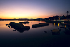 Sunset on the Riviera (fredMin) Tags: france long exposure antibes fujifilm xt1 sunset 1855 mediterranean alpes maritimes
