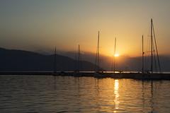 Port of Limenas (nenadlatkovic) Tags: sunset dawn port boat sea evening water sun limenas greece helas ellada summer nikon d5200 18105 outdoor explore explored europe vacaion travel macedonia thassos