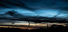 Art in the sky (Wouter de Bruijn) Tags: fujifilm xt1 fujinonxf35mmf14r sunset sky cloud clouds brush art impressionist skyline silhouette middelburg nature outdoor dusk evening night