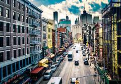 Heat over Chinatown (Arutemu) Tags: ny newyork newyorkcity manhattan chinatown manhattanbridge urban usa us unitedstates cityscape city fuji fujifilm 18mm ciudad view ville