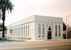 Porst SP Riverside Finance Building () Tags: vintage retro classic film camera losangeles california riverside history west coast architcture porst photo quelle 35mm m42 slr germany chinon cosina japan tiltshift color
