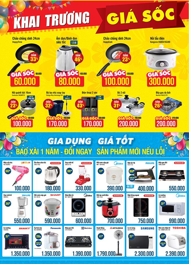 Khai trương siêu thị Điện máy XANH Xuân Mai, Hà Nội