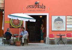Mandala (Gabriel Kay) Tags: mandala tee coffee teehouse coffeeshop shop text title people chill talking hidden comfortable calm quiet relax placid cozy cosy