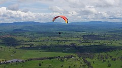 Rene1 (overflow50) Tags: paragliding paraglider canberra spring springhill sky clouds