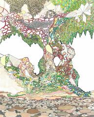 o. T., 2012 (A. Arendt) Tags: art ink struktur angelika aquarell arendt
