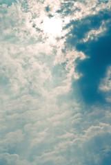 Shooting canvas from the sky (Angelo G.I.O.) Tags: morning blue light sky sun white home nature clouds thailand 50mm daylight nikon asia bangkok grateful daytime rays d3000 bangkae nikond3000 phetkasemroad phetkasem