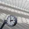 3 o Clock (Time for Lines) (@noutyboy (Instagram)) Tags: abstract clock lines station composition eos 50mm three shadows belgium belgie time railway calatrava minimalism f18 schaduw liege luik klok 550 schadow treinstation schaduwen tijd minimalisme compositie nout niftyfifty guillemins 550d eos550d noutyboy