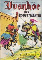 Ivanhoe 14 (micky the pixel) Tags: comics comic tournament knight joust ivanhoe ritter tjost walterlehningverlag