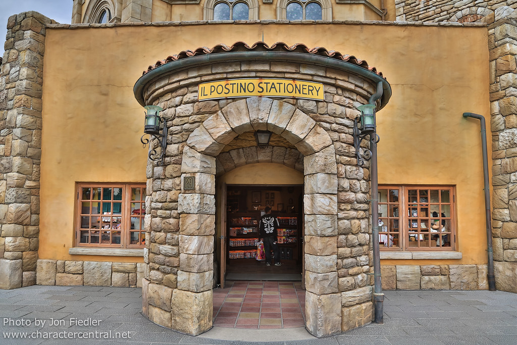 Il Postino Stationery at Disney Character Central