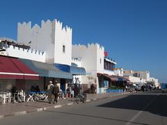 Sidi Ifni - Avenue Mohammed V (rh1192) Tags: architecture coast centre center atlantic morocco maroc avenue marokko sidi ifni cycletourmorocco2012