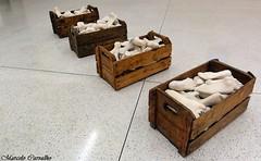 Museu Oscar Niemeyer (MON)_Curitiba (FM Carvalho) Tags: brazil feet paran niemeyer brasil museum foot oscar museu curitiba ps mon p brsil museuoscarniemeyer caixote caixotes