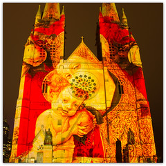 Madonna and Child (Explored) (loobyloo55) Tags: christmas church canon lights december child cathedral madonna jesus sydney explore 19th 2012 explored canoneos7d explore20121219