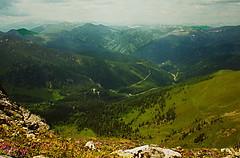 paysage vers le klomnoch Carinthie Autriche (luka116) Tags: berg montagne austria sterreich montana relief 1992 paysage montagna moutain autriche montagnes sommet gmnd carinthie klomnoch