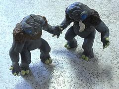 umber_hulks (cmdrkoenig67) Tags: toys action dragons add figure dd figures pvc dungeons advanced tsr umberhulk