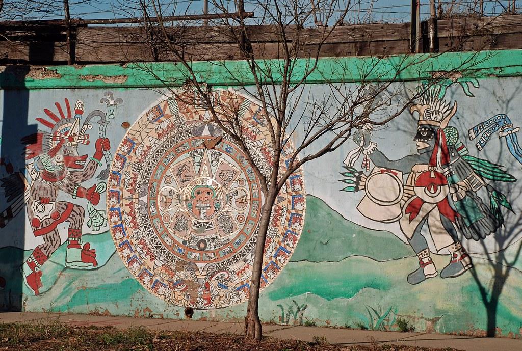 aztec murals coloring pages - photo#38