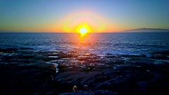 Romantisch (Janne Aaltonen) Tags: sunset couple atlantic tenerife romantic lagomera
