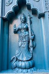 Sculpture at Bhairabi Temple (adhikarig) Tags: india assam tezpur durgashrine bhairabitemple