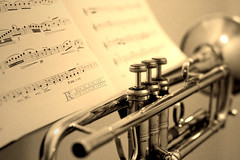Trumpet with Music